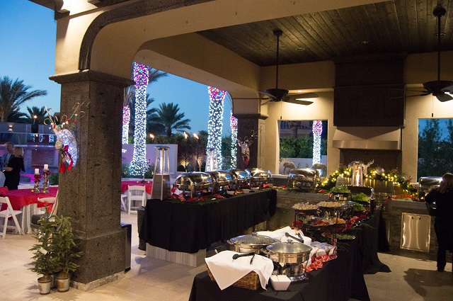 The Gala buffet is ready - by Robert's Catering